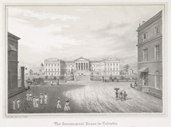 The Government House in Calcutta